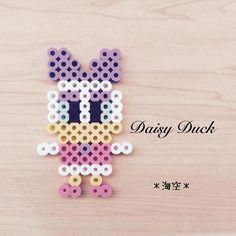 Daisy Duck perler beads by kaisora0_0
