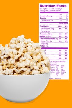 YIKES! Is the nutrition label on your bag of popcorn lying to you? YUP. Get the details, plus the latest info on the NEW cold brew coffee on the market!