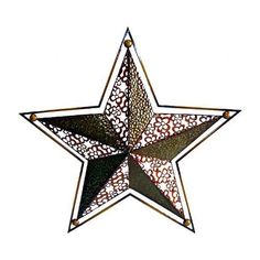 Cheungs Rattan Star Wall Art in Multicolor - Home Decor Sculptures, Wall Sculptures, 3d Wall Art, Metal Wall Art, Metal Stars, Star Wall, Metal Panels, Hanging Ornaments, Cool Walls