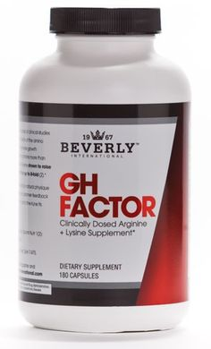 Beverly International GH Factor 180 Capsules & Reviews