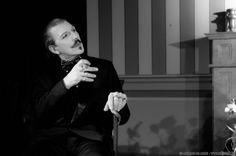 """Mario Bresciani Commedia """"Tutto per bene"""" di Luigi Pirandello Personaggio: Veniero Bongiani"""