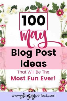 Content ideas for your blog. May blog post ideas! If you're a blogger looking for blog post idea inspiration, here ya go! Awesome blog posts will be easy with this blog post ideas list for May! May blog post inspiration for blog success! Lifestyle blog post ideas, fashion blog ideas, fitness blog ideas, and more! Grab your FREE May blog printable pack too! | playingperfect.com | #may #blog #blogging #playingperfect #blogposts #blogpostideas #freeprintable #blogcontent #blogs #blogideas…