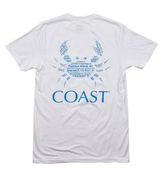 Beach Crab - White Tee