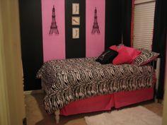 paris bedroom ideas | Posh Paris Room - Girls' Room Designs - Decorating Ideas - HGTV Rate ...