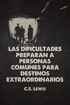 Las dificultades*...                                                       …
