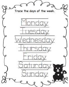 Preschool Printables: Cookie