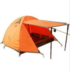 Pin it! :) Follow us :)) zCamping.com is your Camping Product Gallery ;) CLICK IMAGE TWICE for Pricing and Info :) SEE A LARGER SELECTION of 5-6 persons camping tents at http://zcamping.com/category/camping-categories/camping-tents/5-to-6-person-tents/ - hunting, camping tents, camping, camping gear - Three person tents double open the door Aviation aluminum pole « zCamping.com