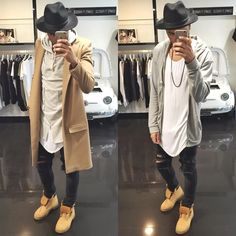 """""""2 cool fit to rock , Which one do You prefer ?! Comment and let me know ... @champaris75 #Champaris"""""""