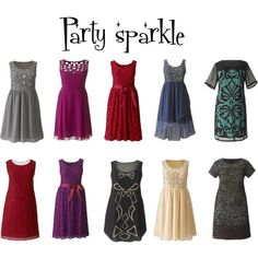 """Party Sparkle"" by simplybe on Polyvore"