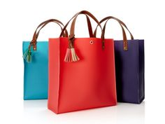 Danielle Nicole Jelly Tote  $52  This jelly tote is as cute for walking around NYC as it is for a day at the beach. Über duper cute. - Shopafrolic