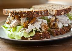 """Chicken salad made from left over rotisserie chicken. """"Tastes even better the next day"""""""