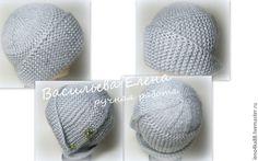 Вяжем спицами шапочку «Робин» - Ярмарка Мастеров - ручная работа, handmade