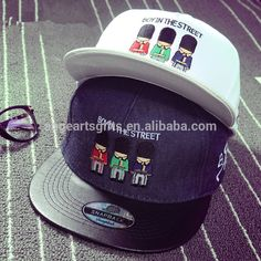 Check out this product on Alibaba.com APP Custom Fitted Snapback With Embroidery LOGO Blank Fitted Hats Wholesale