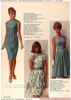 1960s Outfits, Vintage Outfits, 1960s Fashion, Vintage Fashion, Christmas Catalogs, Vintage Wear, Vintage Style, Fashion Marketing, Classy Dress