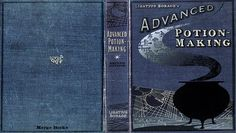 harry potter spell book cover printable - Google Search