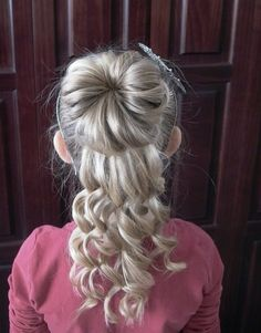 Curly Hairstyles Little Girls | Behairstyles.