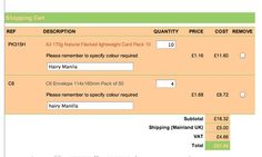 £27.98 for 100 a3 pages and 200 envelopes £40 to print on that many =£70 plus the odd bits like String and buttons etc.