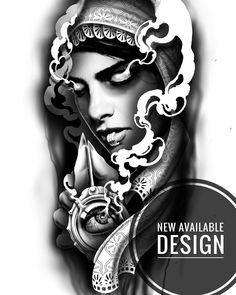 ✖️AVAILABLE DESIGN✖️Available design of the eyeless profit for any body area! Shoot me a DM if you'd like to snag it! Grafiti, Chicano, Tattoo Art, Tattoos, Artworks, Tattoo Designs, Arm, Dragon, Portrait