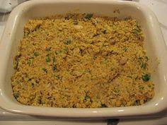 Chicken, Rice & Veggie Casserole