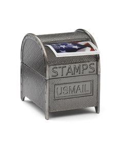 Oh. My. Goodness!! A stamp dispenser that looks like a mail box. :: USPS :: Stamp Coil Dispenser