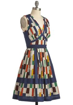 Plenty by Tracy Reese Hone Your Crafting Dress, #ModCloth  Almost looks like books