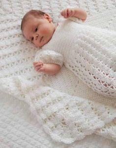 Princess Charlottes Christening Crochet Blanket Baby Girl Crochet Blanket, Crochet Baby Clothes, Baby Girl Blankets, Christening Blanket, Baby Christening, Girl Baptism, Baptism Outfit, Christening Outfit, Afghan Crochet Patterns