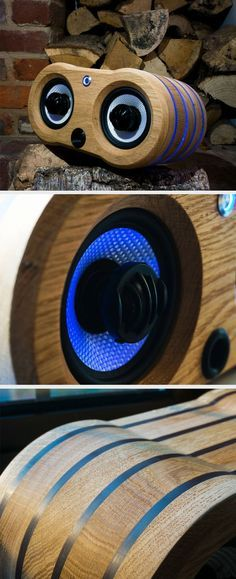 This gorgeous speaker looks a bit like it has a face.