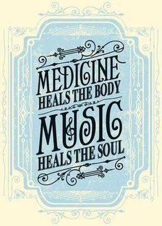 Medicine heals the body, music heals the soul. Design by Justin Helton of Status Serigraph The Words, Quotes To Live By, Me Quotes, Change Quotes, Attitude Quotes, Good Music Quotes, Quotes About Music, Music Quotes Life, Music Sayings