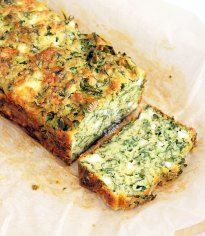A super easy spinach cake · Italianchips Spinach And Feta Muffins, Spinach Cake, Spinach Bread, Spinach And Cheese, Savoury Baking, Savoury Cake, Savoury Dishes, Loaf Recipes, Salads
