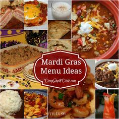 Best of the Best Mardi Gras Brunch and Party Foods Menu Ideas all from Deep South Dish blog!