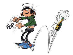 Gaston Lagaffe - Champagne pour tout le monde