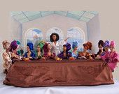 Last Supper for Barbie and Friends