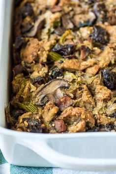 Cooking Tips | Here is Rosemary Bacon Mushroom Stuffing that you can cook for your healthy Paleo thanksgiving dinner menu