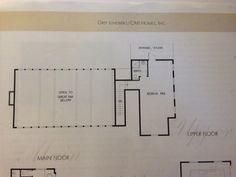 My dream house floor plan, upper floor