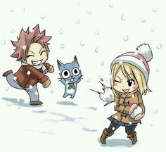 Nalu and Happy