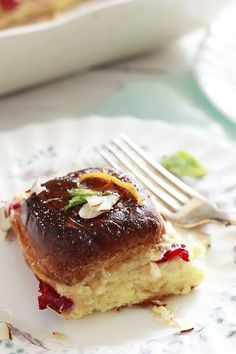 Orange Cranberry Baked French Toast Recipe
