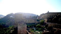 Palacio Carlos V, Palacio Mexuar y Alcazaba
