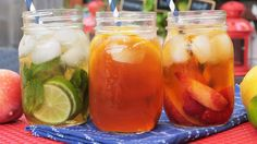 Iced Tea 3 Delicious Ways | The Domestic Geek