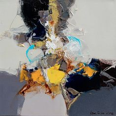 Painting : Hyun Jou Lee Abstract Drawings, Abstract Art, Art Texture, Giraffe Art, Acrylic Artwork, Modern Art Paintings, Ink Art, Figure Painting, Abstract Expressionism
