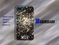 monogram star cluster skin iPhone Case  iPhone 4 by hamimelons, $7.99