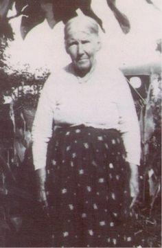 Mary Elizabeth Kelly from Blackshear, Georgia - Cherokee - circa 1930