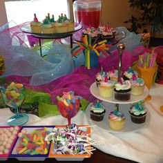 Inexpensive and easy candy buffet