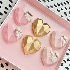 Chocolate Covered Treats, Chocolate Bomb, Chocolate Hearts, Chocolate Molds, Cream Cheese Mints, Cupcake Mold, Heart Cakes, Cake Craft, Geometric Heart