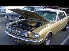 1965 Ford Mustang GT Coupe fully restored for sale, 289 A code