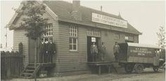 Goederenkantoor Stationsweg ± 1925