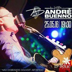 Hoje véspera de Feriadão tem - ANDRÉ BUENNO Acústico e ao vivo - a partir das 20:30 - IMPERDÍVEL. Venha curtir o Chopp mais Gelado da Cidade e os melhores beliscos ao som do melhor da Música Mundial ao vivo . Na Interpretação inconfundível de André Buenno .. #Bora #belisquegoiânia @belisque #belisque #andrebuenno #belisque #music by andrebuenno1 http://ift.tt/25hACq6