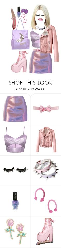 """Killer Queen"" by cuteghostie ❤ liked on Polyvore featuring Harlot, Boohoo, Hot Topic, Big Bud Press and Y.R.U."