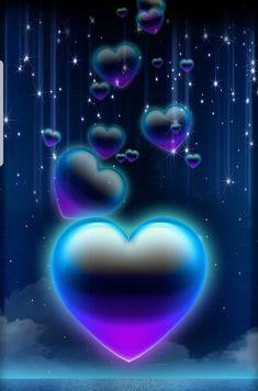By Artist Unknown. Heart Wallpaper, Cute Wallpaper Backgrounds, Love Wallpaper, Cellphone Wallpaper, Pretty Wallpapers, Colorful Wallpaper, Iphone Wallpaper, Zebras, Heart Bubbles