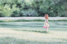 """""""Lilia"""" (watercolor, 15 x 25)"""
