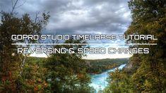 GoPro Studio Timelapse Tutorial   Reversing and Speed Shift